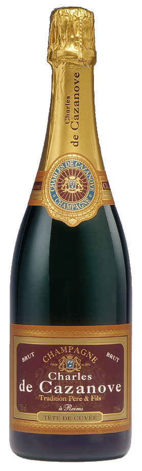 Charles de CAZANOVE -TRADITION BRUT - NV - 75CL